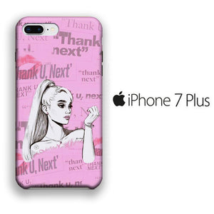 Ariana Grande Thanks U Next Cartoon iPhone 7 Plus 3D coque custodia fundas