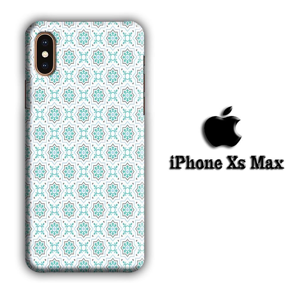Art Ceramic Patern 002 iPhone Xs Max 3D coque custodia fundas
