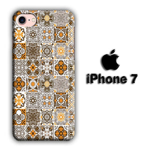 Art Ceramic Patern 004 iPhone 7 3D coque custodia fundas