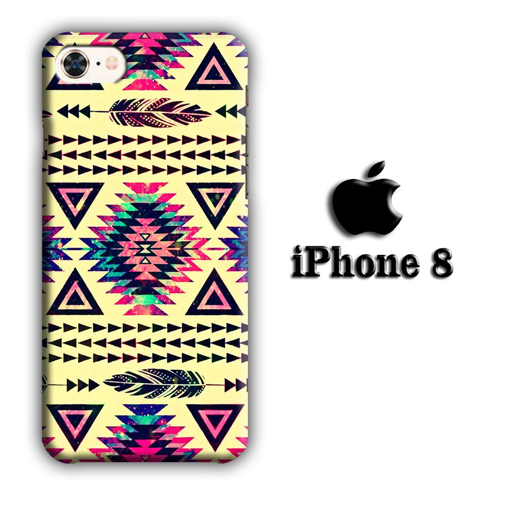 Artifact Motif Painting 002 iPhone 8 3D coque custodia fundas