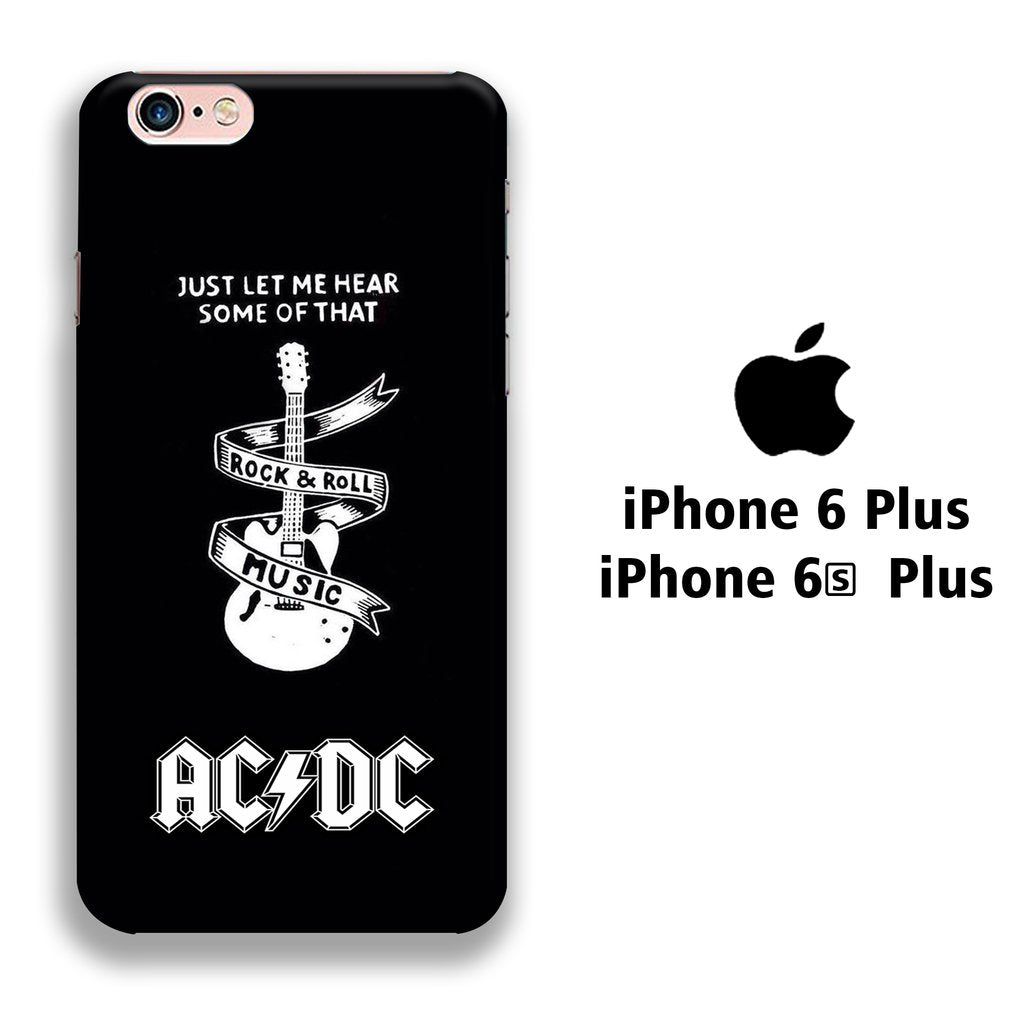 Band ACDC Rockin Heart iPhone 6 Plus | 6s Plus 3D coque custodia fundas