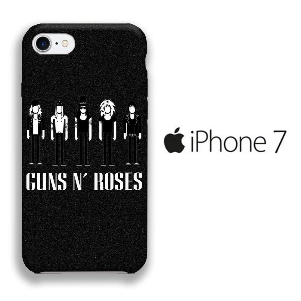 Band GnR Squad iPhone 7 3D coque custodia fundas