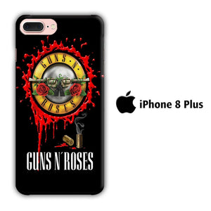 Band Guns N Roses 002 iPhone 8 Plus 3D coque custodia fundas