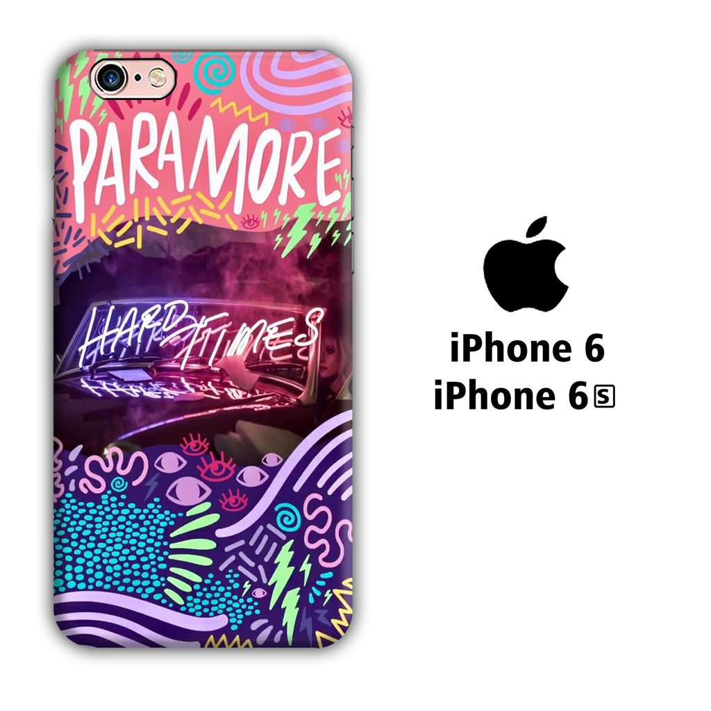Band Paramore 004 iPhone 6 | 6s 3D coque custodia fundas