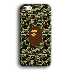 Bape Ape Green Camo iPhone 5 | 5s 3D coque custodia fundas