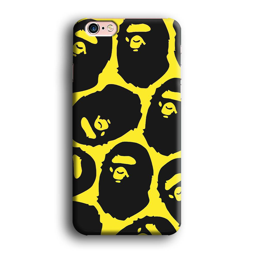 Bape Head Touch iPhone 6 | 6s 3D coque custodia fundas