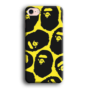 Bape Head Touch iPhone 7 3D coque custodia fundas