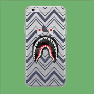 Bape Shark Strip coque iPhone 6 Plus | iPhone 6s Plus Clear