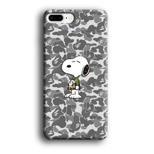 Bape Snoopy Outfit of The Day iPhone 8 Plus 3D coque custodia fundas