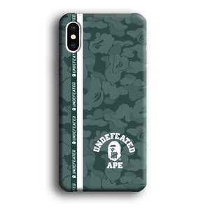 Bape Undftd Ape iPhone Xs 3D coque custodia fundas