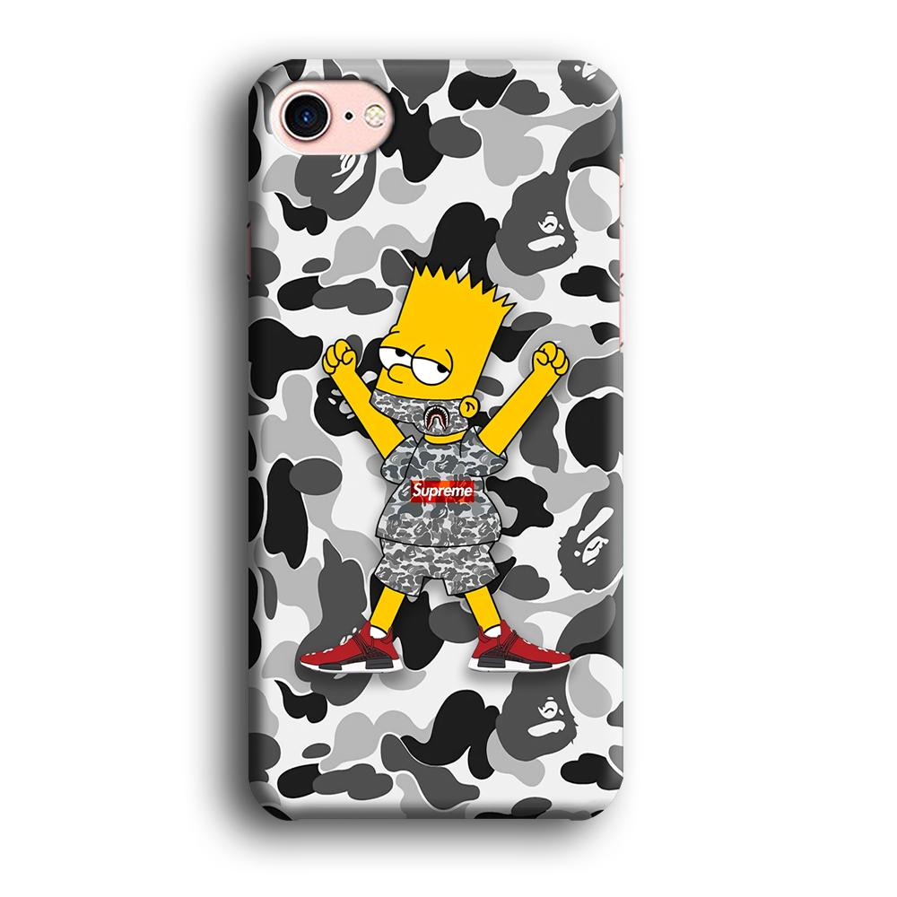 Bape x Glory Bart iPhone 7 3D coque custodia fundas
