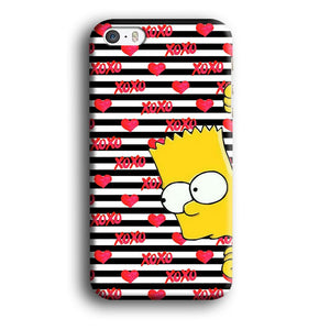 Bart in Xoxo Love iPhone 5 | 5s 3D coque custodia fundas