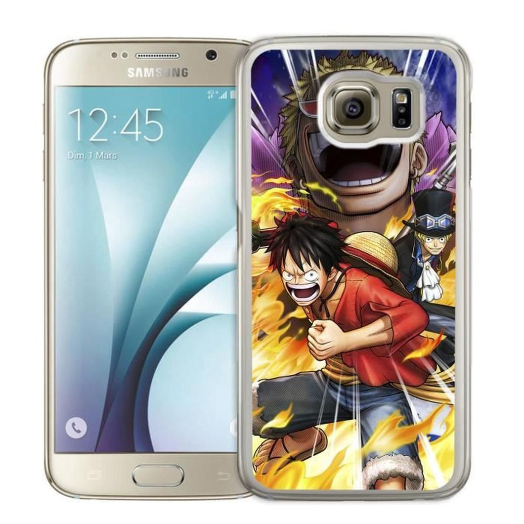 Coque Samsung Galaxy S6 Edge : One Piece Pirate Warrior 3