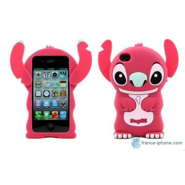 coque iphone 4s silicone 3d