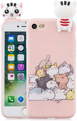 coque iphone 7 silicone animaux