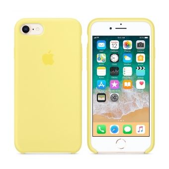 coque iphone 8 jaune