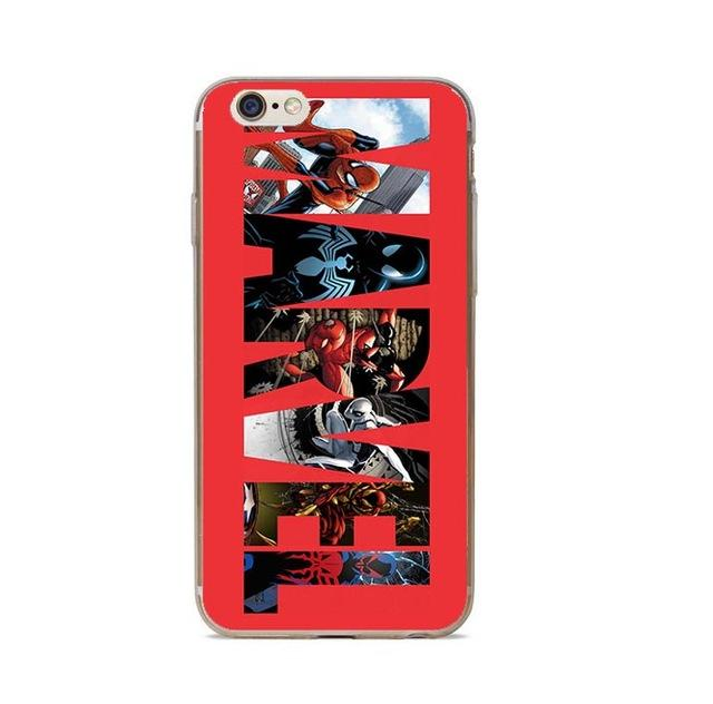 coque iphone marvel