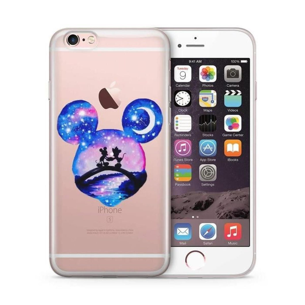 coque iphone se silicone disney