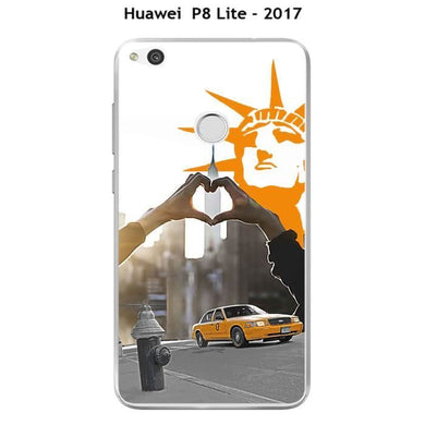 coque new york huawei p8 lite 2017