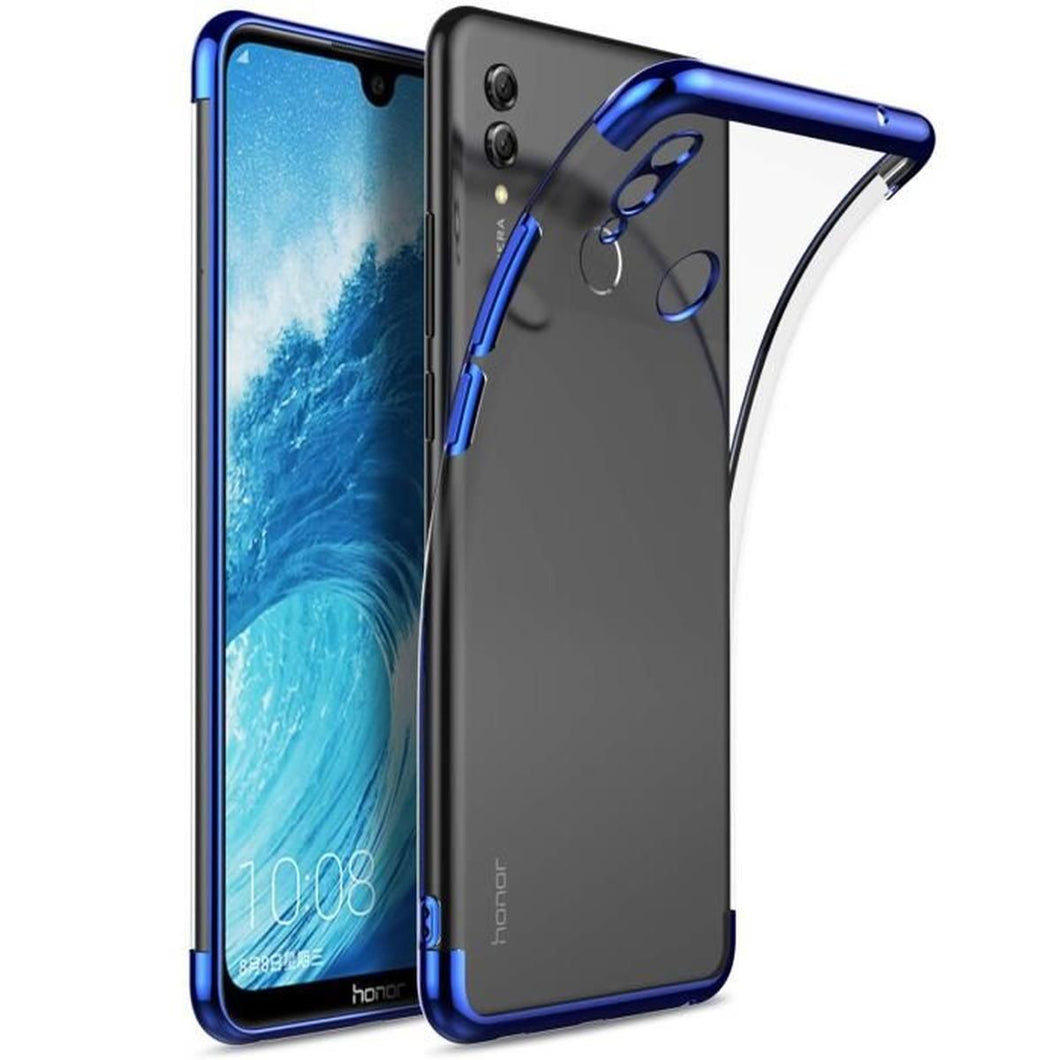 KuGi Coque Honor 8X Max / Huawei Y Max High quality smooth silicone back  Étui Coque Housse De Protection pour Honor 8X Max Clair