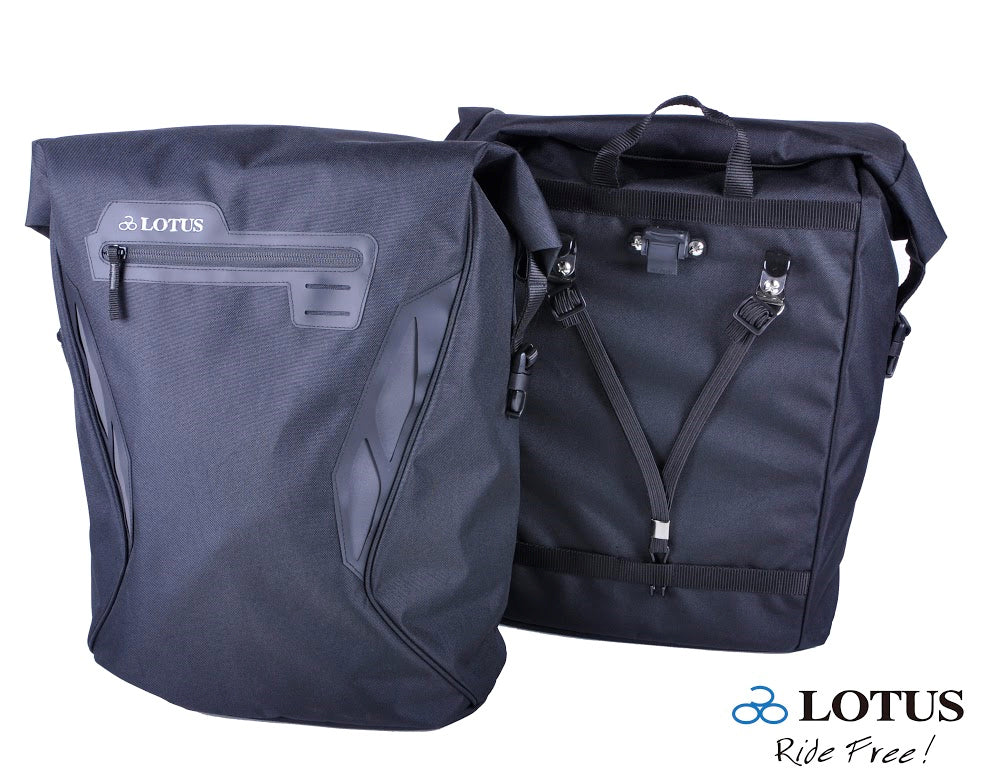 Lotus Explorer Rear Pannier Bags (32.8L)