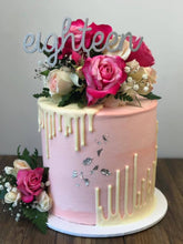Load image into Gallery viewer, Cursive Number Cake Topper