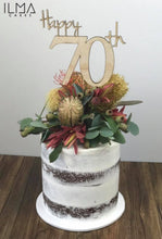 Load image into Gallery viewer, Happy Age Cake Topper