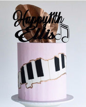 Load image into Gallery viewer, Music Note Cake Topper