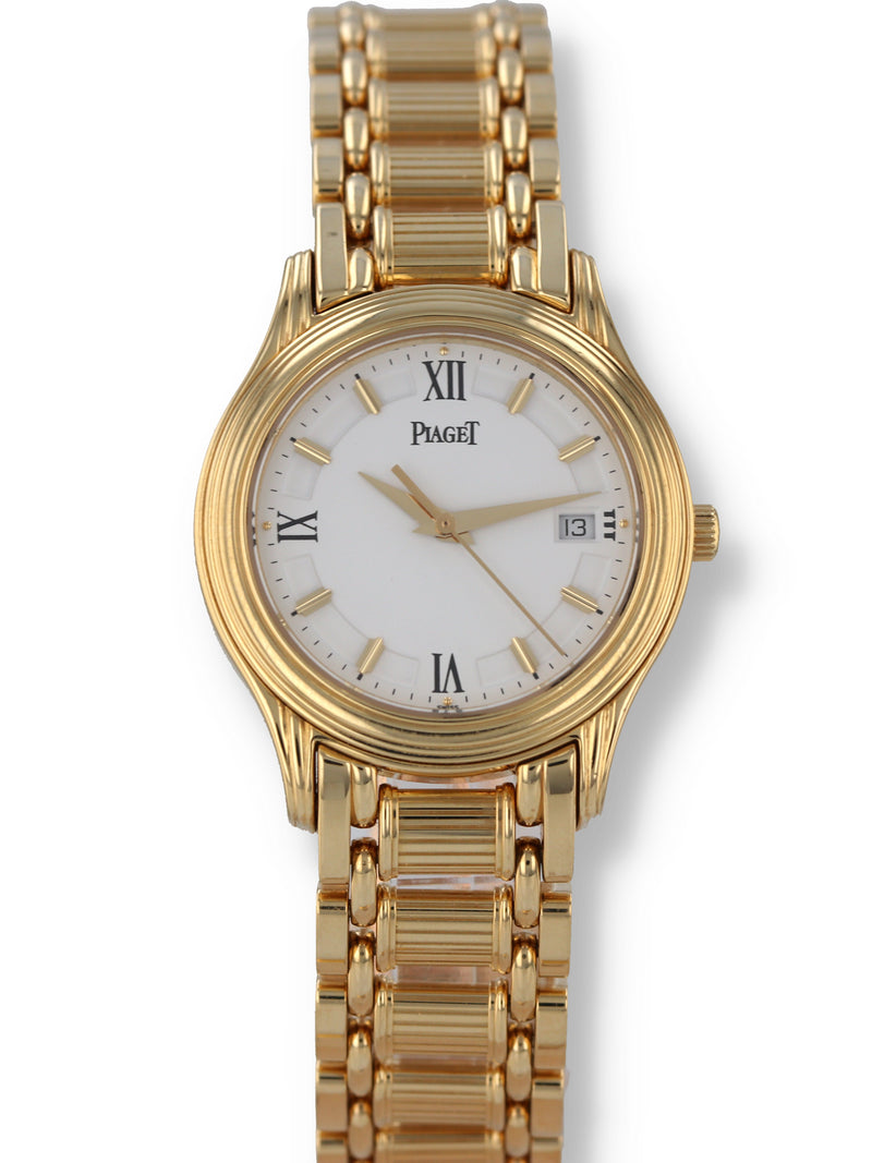 33334: Piaget 18k Yellow Gold Polo, Ref. 23001