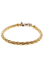 18k Yellow Gold Bracelet Length: 7""