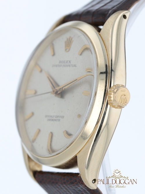 14k Yellow Gold Vintage 1946 Oyster Perpetual