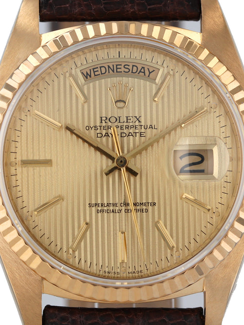 Rolex 18k Yellow Gold President, Ref. 18078