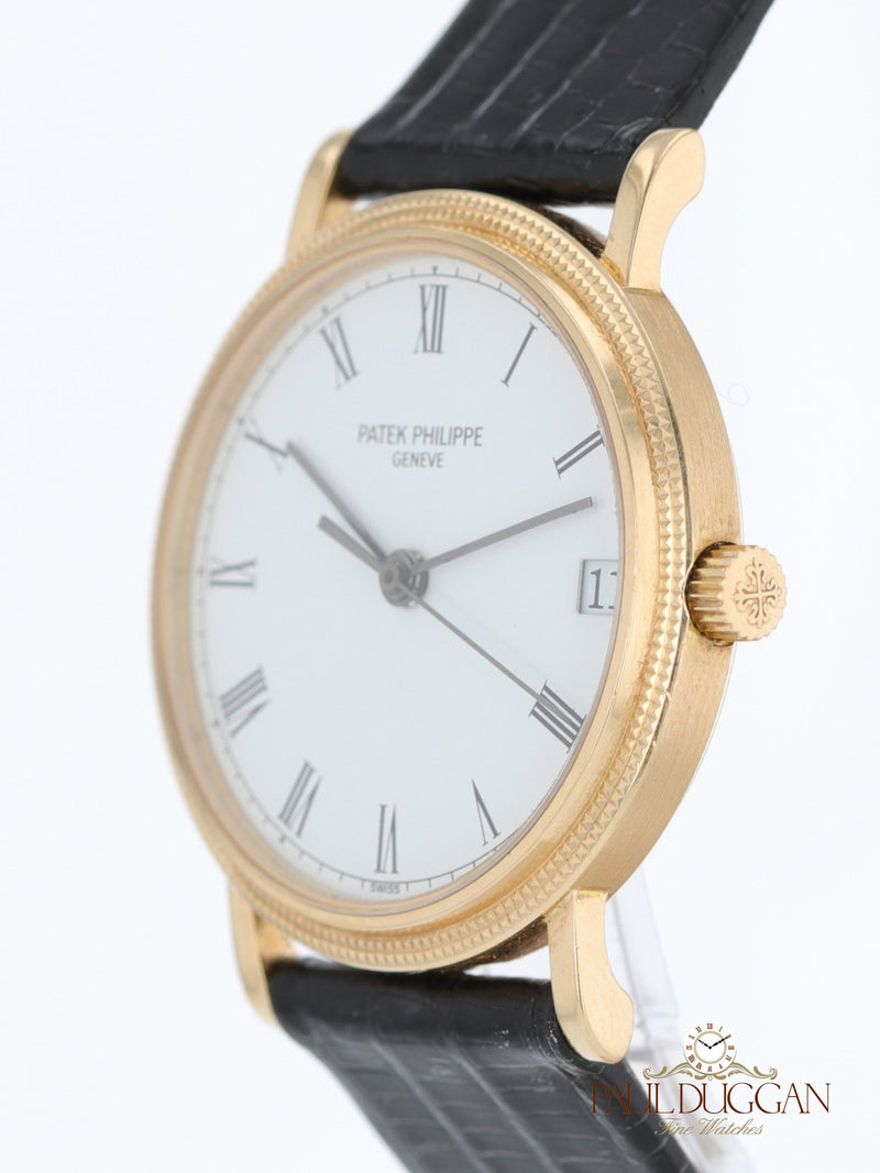 18k Yellow Gold Calatrava Ref. 3802J