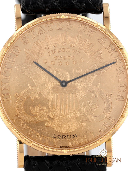$20 Gold Coin Watch Manual