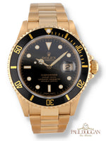 Rolex 18k Yellow Gold Submariner Ref. 16618