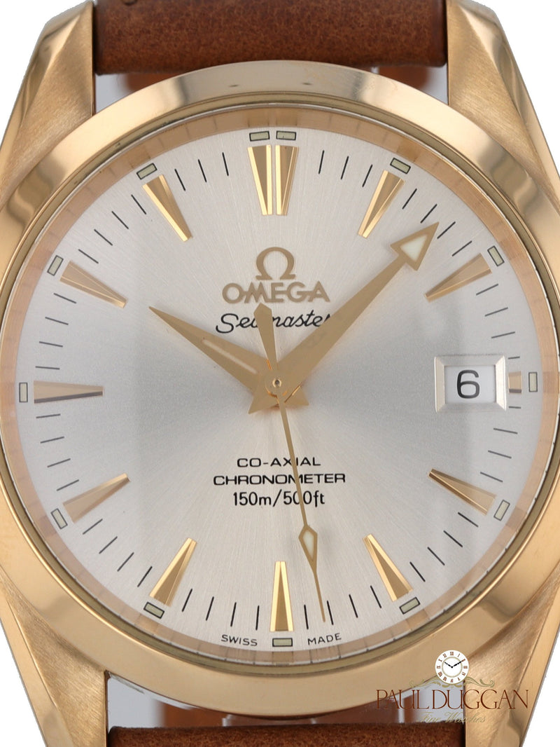 Omega 18k Yellow Gold Seamaster Ref. 2604.30.37
