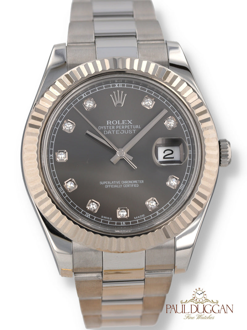 Rolex Datejust II 2012 Full Set Ref. 116334