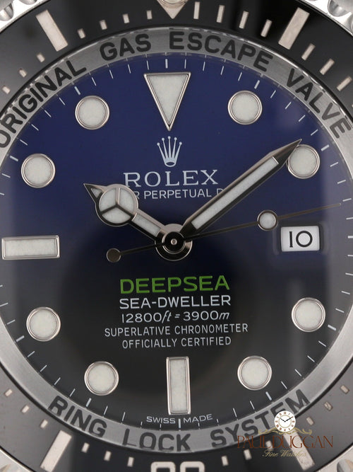 """D-Blue"" DeepSea 2017 Full Set Ref. 116660"