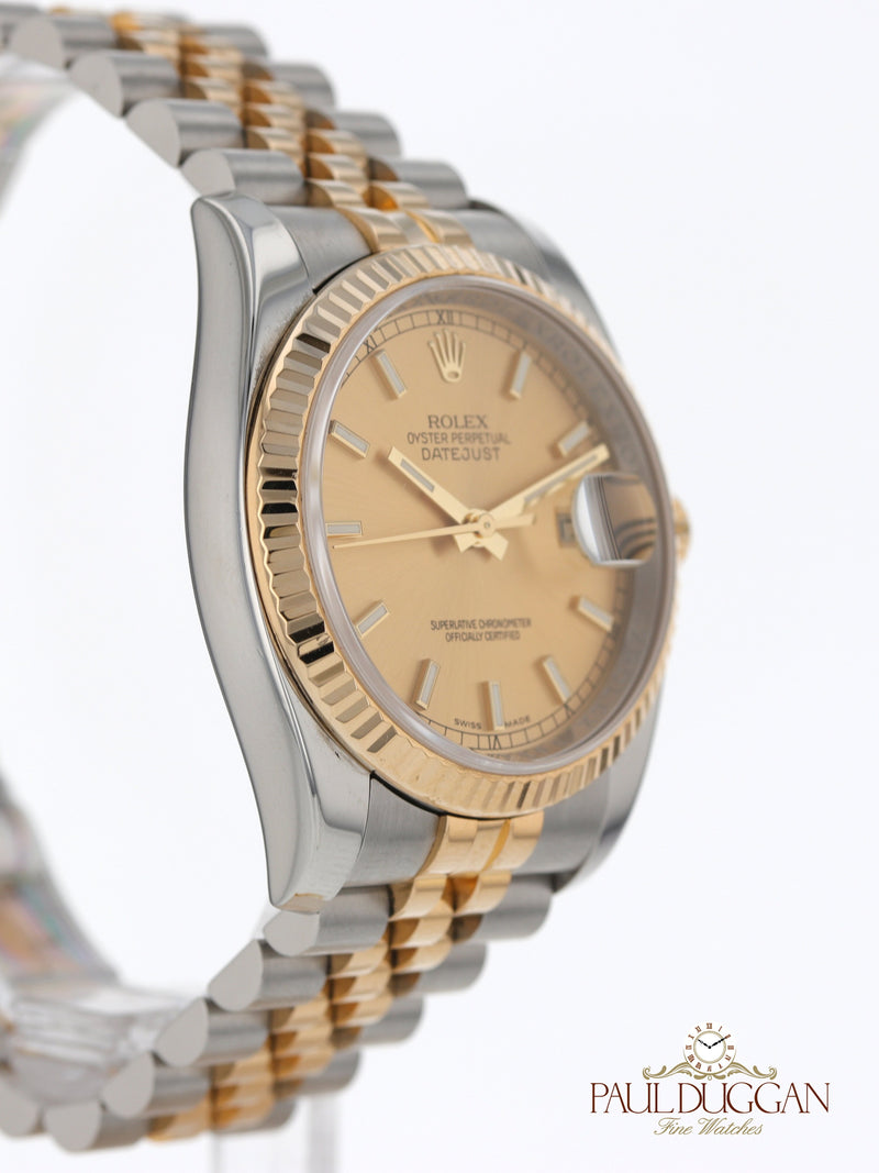Rolex Datejust 2012 Full Set Ref. 116233