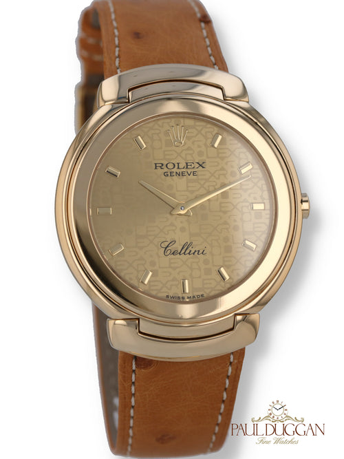 353548: Rolex 18k Cellini 1991 Full Set Ref. 6623