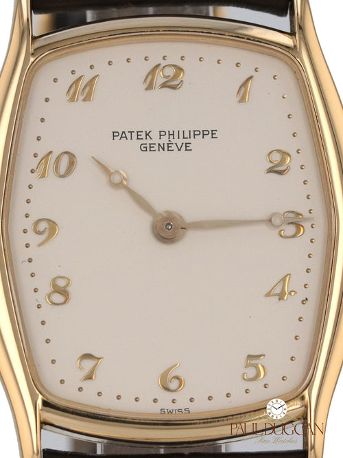 35086: Patek Philippe 18k Yellow Gold Gondolo Ref. 3942