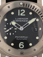 35129: Panerai Luminor Submersible, PAM00025, 2008 Full Set