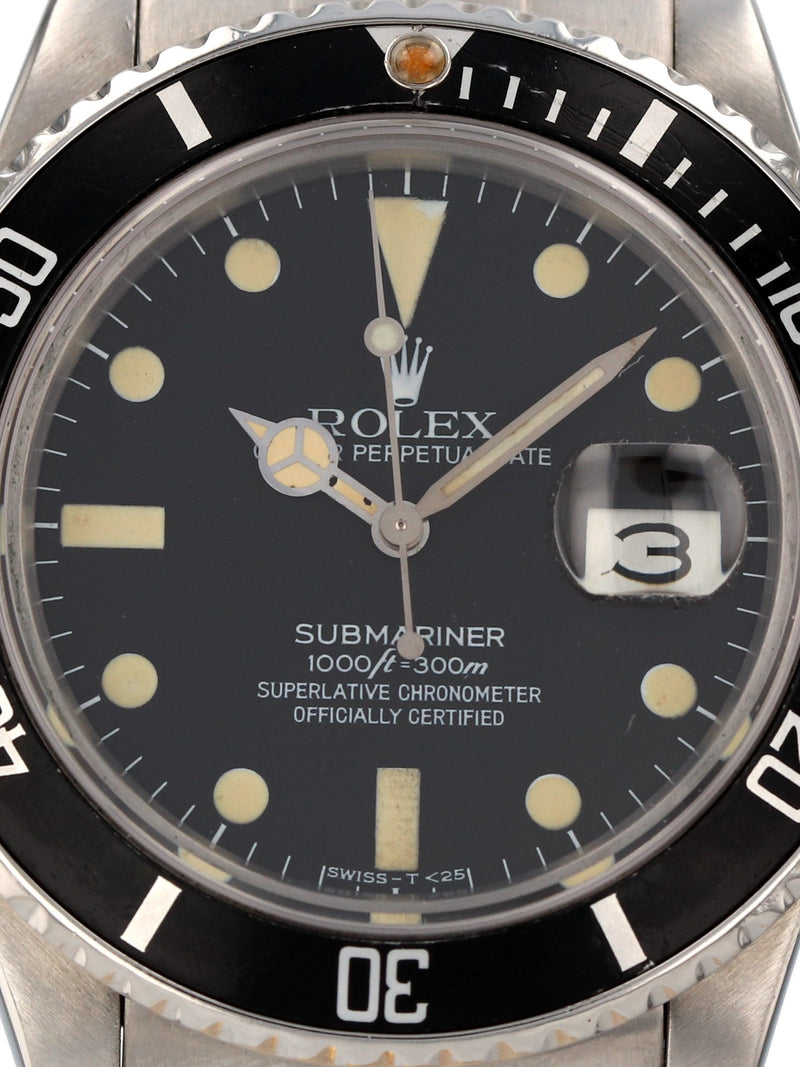 35332: Rolex Transitional Submariner Ref. 16800, Circa 1984