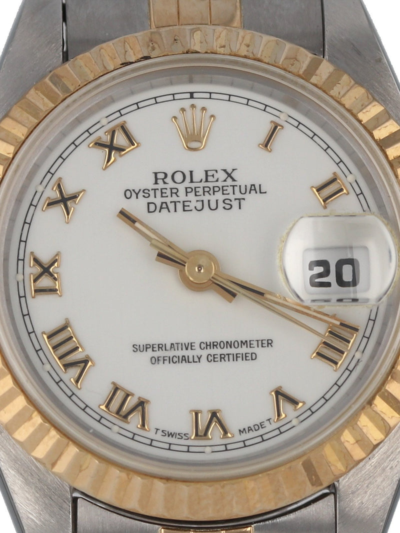 35353: Rolex Ladies Datejust 1993 Full Set Ref. 69173