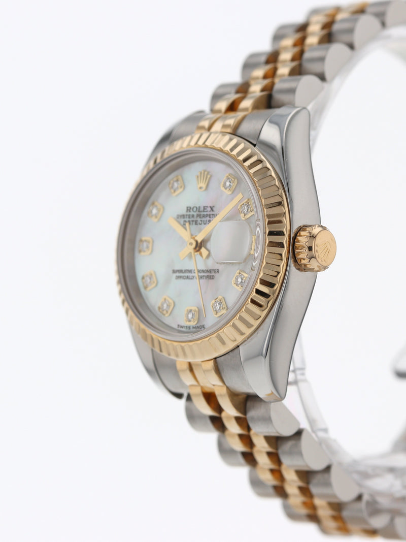 35439: Rolex Ladies Datejust Circa 2003 Ref. 179173