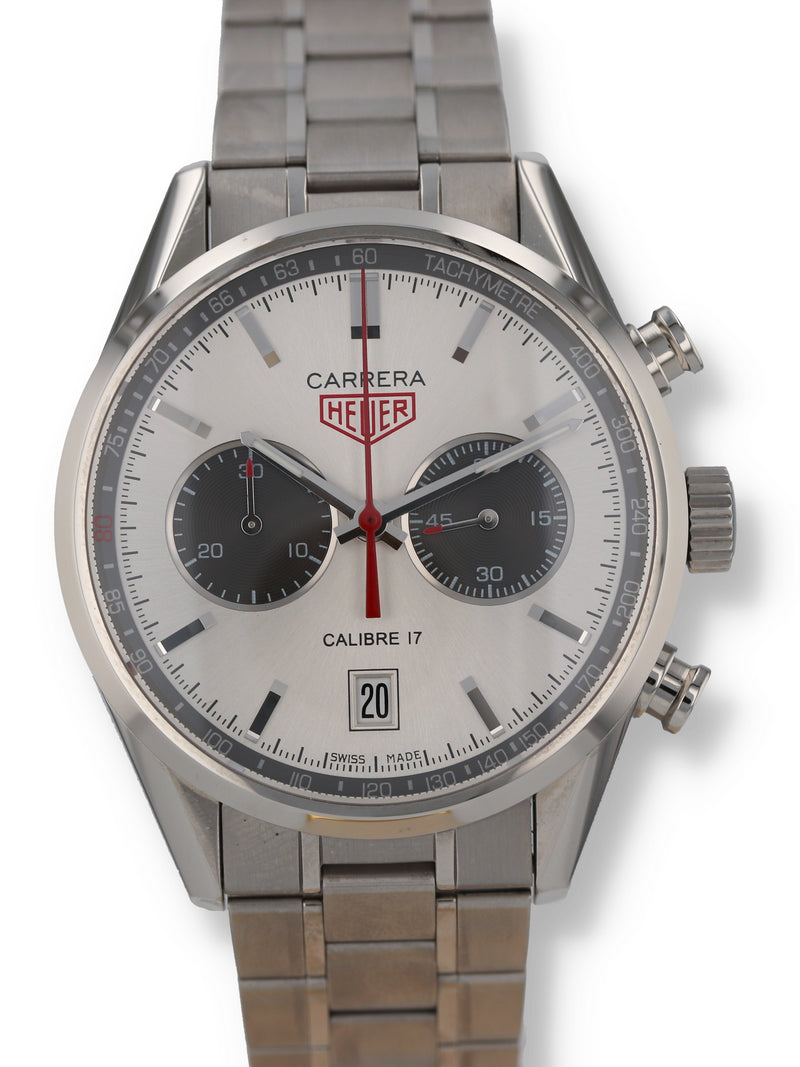 35477: Limited Edition Jack Heuer Ref. CV2119