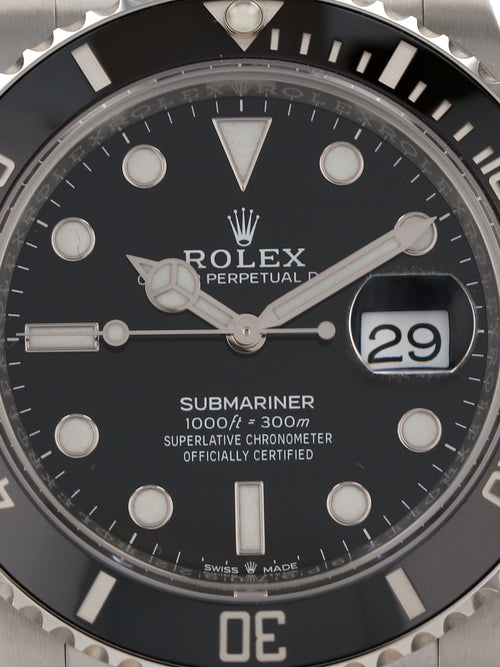 35502: Rolex Submariner, Ref. 126610LN, Unworn 2020