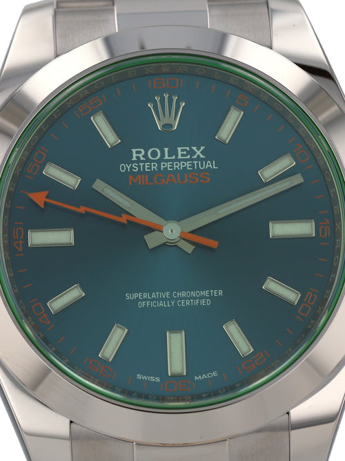 ON HOLD: 35503: Rolex Milgauss, Ref. 116400GV, Unworn 2020