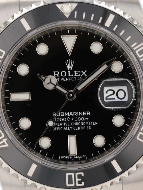 35504: Rolex Submariner, Ref. 116610LN, Unworn 2020