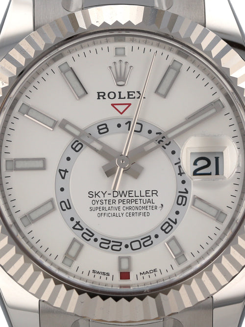 ON HOLD 35506: Rolex Sky-Dweller, Ref. 326934 Unworn 2020